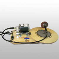 AV-55 Table Driven Saw Polisher – 18 inch