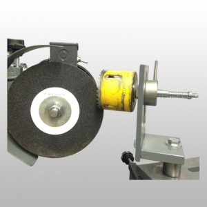 Hole Saw Sharpening Fixture