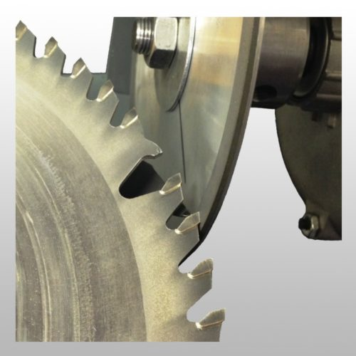 Top grinding saw blades