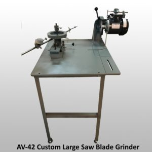 Offering Custom Sharpening Equipment
